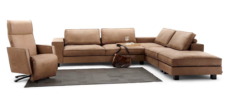 Lounge sofa leder  sofas | Tommy M