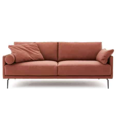 Sofa Tiffany in Koala Rust